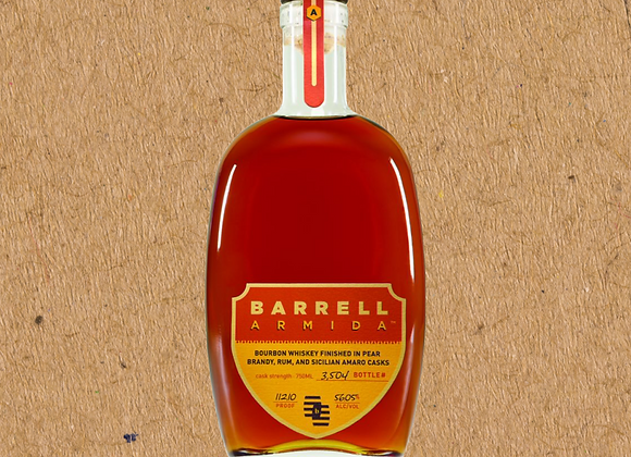 Barrell Armida / Straight Bourbon Finished in Pear Brandy, Jamaican Ru (DC ONLY)