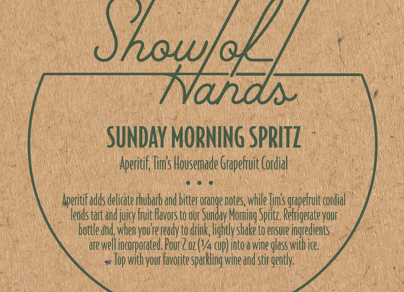 Sunday Morning Spritz - 10 Ounce Bottle (Serves 5) (MD)