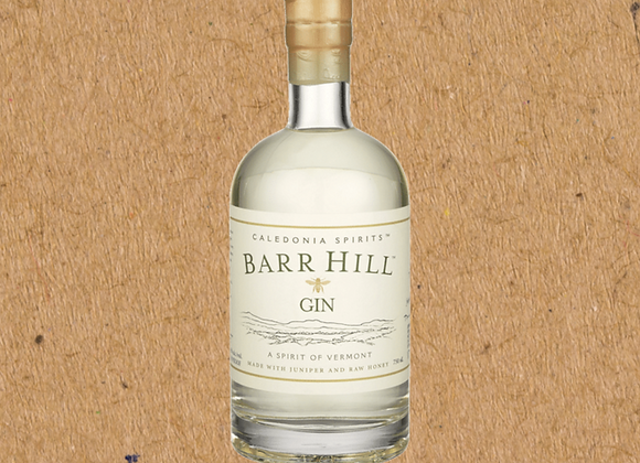 Barr Hill New American Gin withHoney