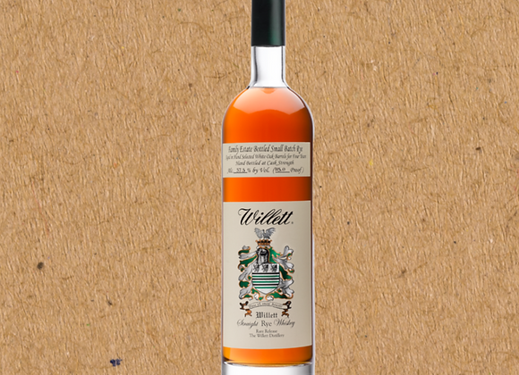 Willett Family Estate Bottled 4 Year Rye / Rye Whiskey
