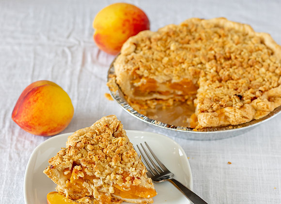 Whole Peach-Ginger Pie - PRE ORDER