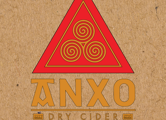 ANXO District Dry (Cider - 4 Pack x 12 oz.)