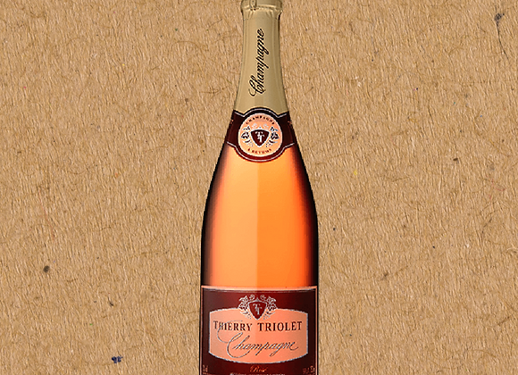 Thierry Triolet, Brut Rosé (1.5L)