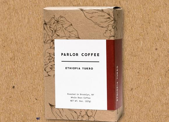 Parlor Coffee: Ethiopia Yukro (8oz)