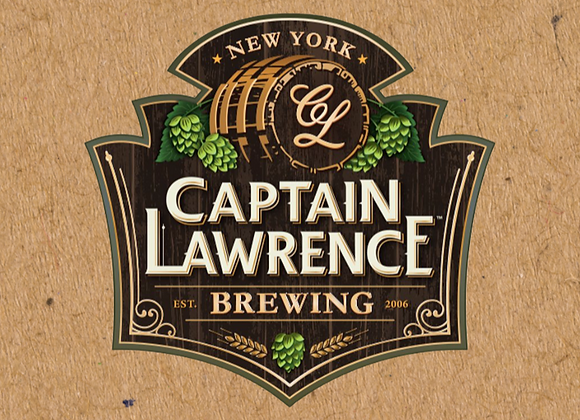 Captain Lawrence Barrel Select Gold (Mixed Fermentation Ale - 12.7 oz.) (MD)