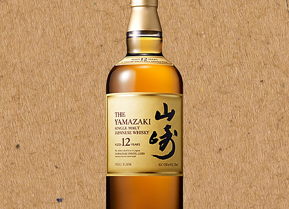 Yamazaki 12 Year / Single Malt Japanese Whiskey (DC ONLY)