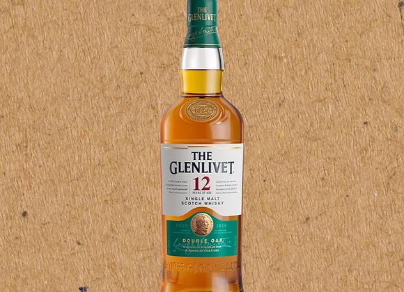 Glenlivet 12 Year / Speyside Single Malt Scotch Whiskey (MD)