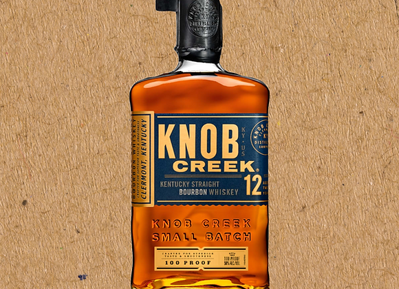 Knob Creek 12 Year / Straight Bourbon (DC ONLY)