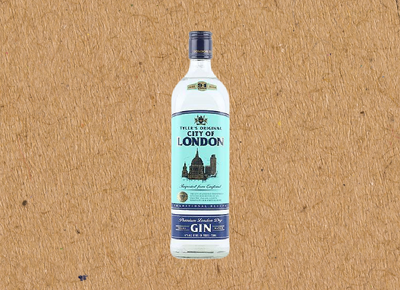 Tyler's City of London Dry Gin Mini