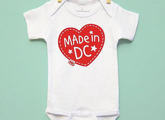 Made in DC Onesie / Neighborgoods