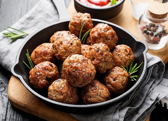 Iron Gate Meatballs (8pc)