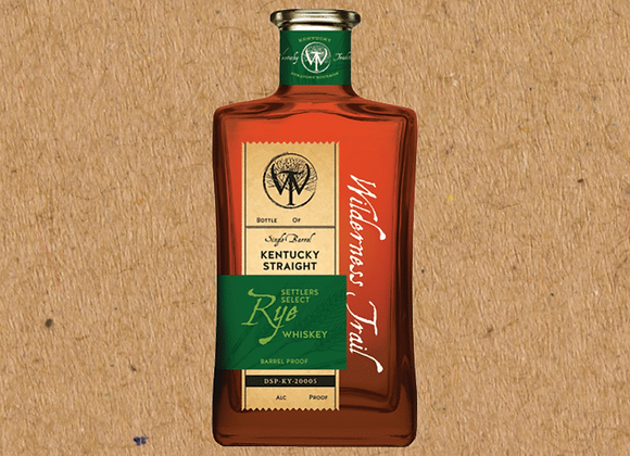 Wilderness Trail Settler's Select Rye / Single Barrel Straight Rye