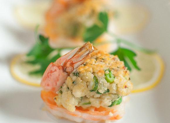 Crab Imperial Stuffed Shrimp