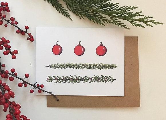 DC Flag Christmas Card