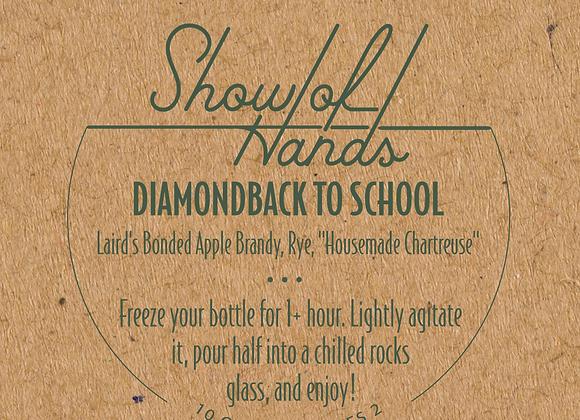 Diamondback to School (serves 2)