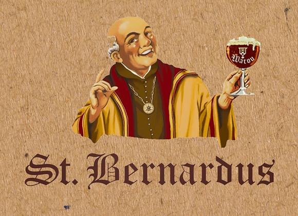 St. Bernardus Gift Pack (6 Pack + Glassware)
