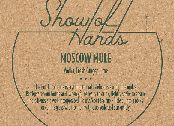 Moscow Mule - 10 Ounce Bottle (Serves 4)