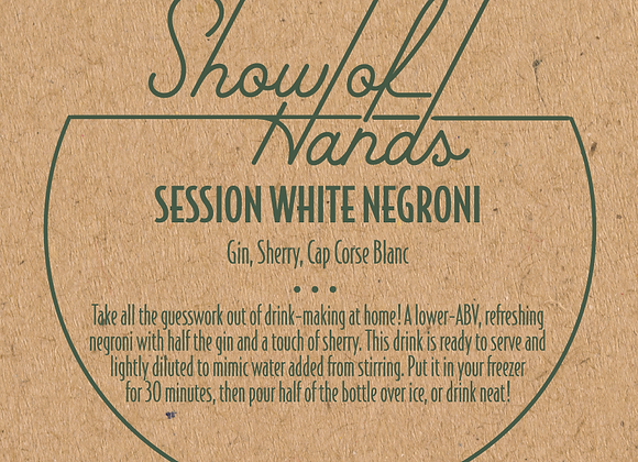 Session White Negroni - 10 Ounce Bottle (Serves 2)