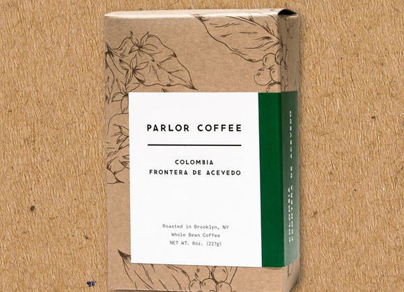 Parlor Coffee: Colombia Acevedo (8oz)