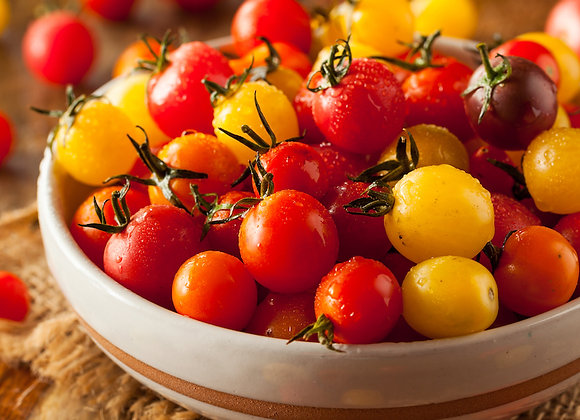 Mixed Heirloom Cherry Tomatoes (pint)