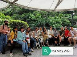 Coaching with the Guide Dog Wong Wong
