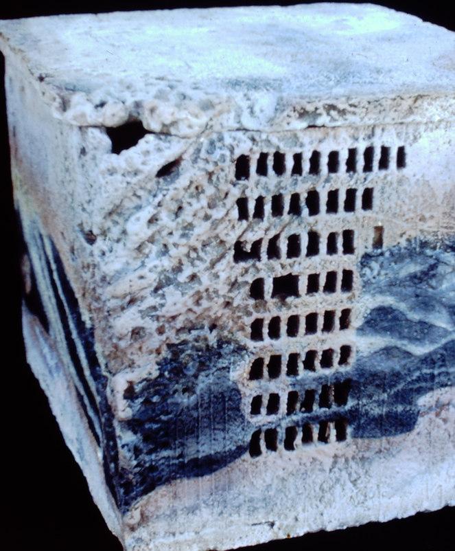 """""""Box with Lid"""" - Ceramic Sculpture"""