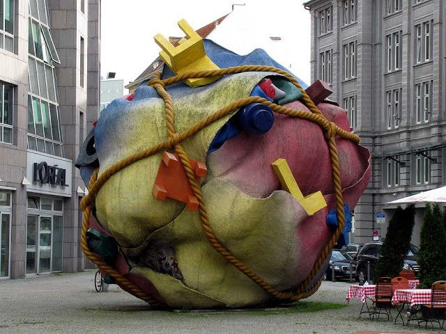 """House Ball"" by Claes Oldenburg"