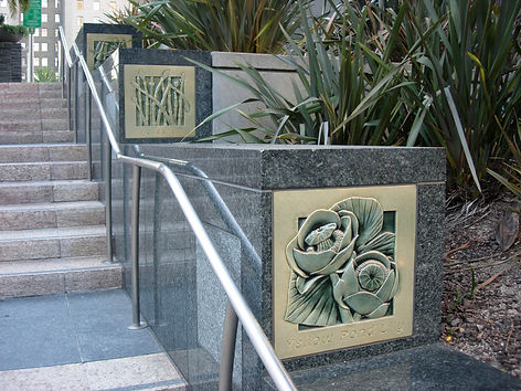 Union Square SF ceramic tile designed by