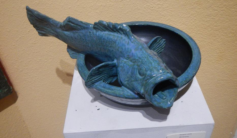 Rockfish Bowl (Ceramic)