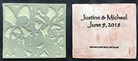 Custom Commemorative Tiles