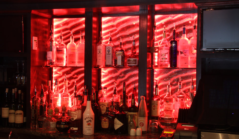 Tex Wasabi Custom Backlit Bar