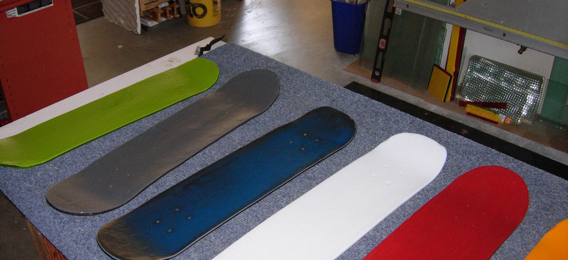 Glass Skateboards