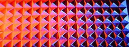 Pyramid Wall w_colored light.JPG