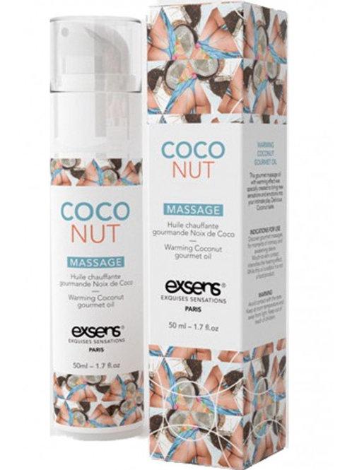 Huile chauffante Gourmande Noix de coco 50ml