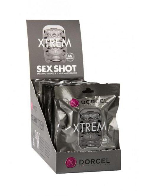 Masturbateur Sex Shot Xtrem Dorcel - Blanc