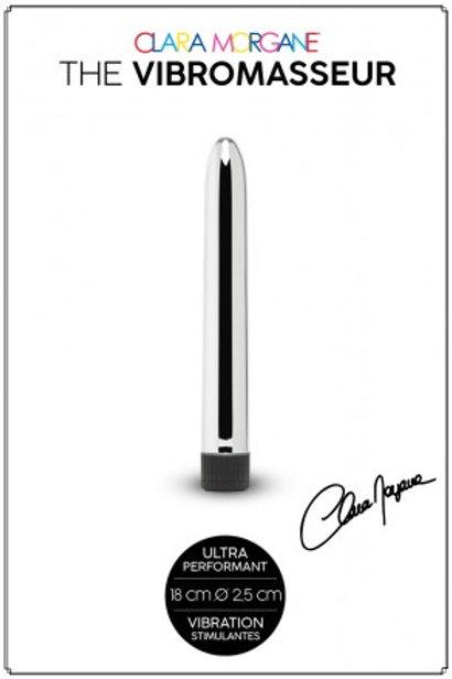 The Vibromasseur stimulateur Silver 18cm