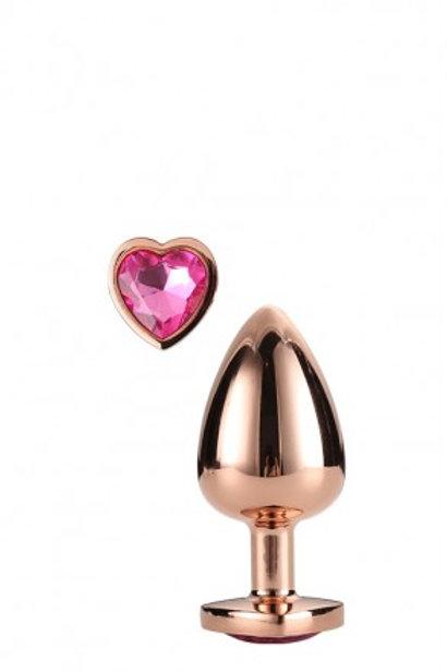 Gleaming Love Coeur Bijou Plug gold 21789 Taille S