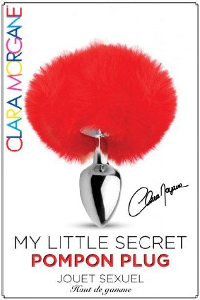 My Little Secret Pompon Plug Rouge