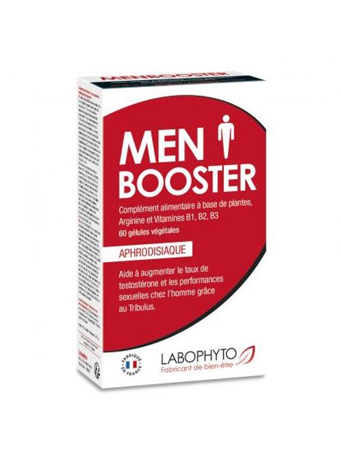 Gel d'érection MenBooster - 6 dosettes