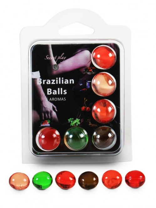 6 Brazilian Balls Aroma 3386