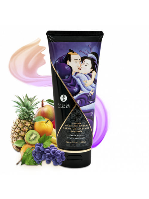 Crème de Massage délectable - Fruits exotiques