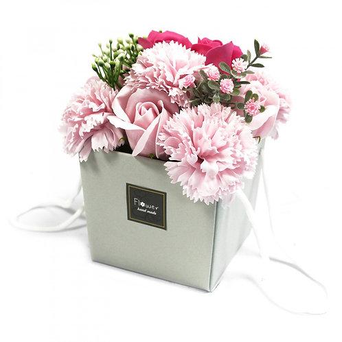 Savon Fleur Bouquet - Rose Rose & Oeillet