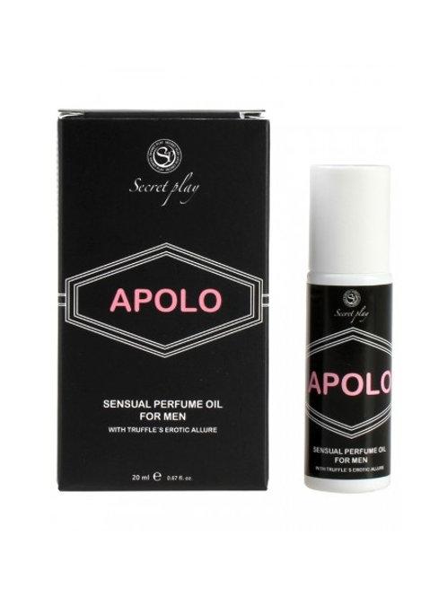 Huile parfumée roll-on aux phéromones - Apolo - 20 ml 3511