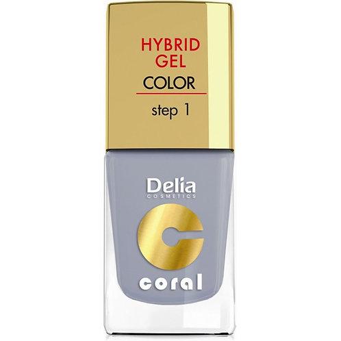 Hybrid Gel ongles lumière émail gris nr08