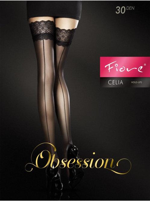 Celia Bas 30 DEN - Noir