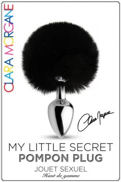My Little Secret Pompon Plug Noir
