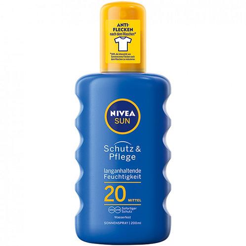 Nivea spray solaire 200ml SPF20