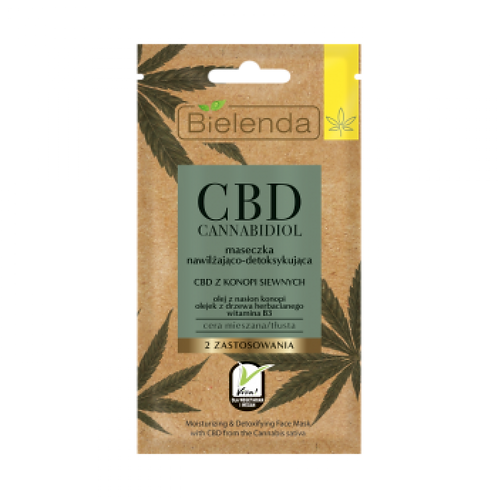 Masque Detox au CBD à base de chanvre