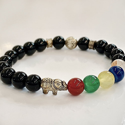 Dani Elephant Beaded Bracelet