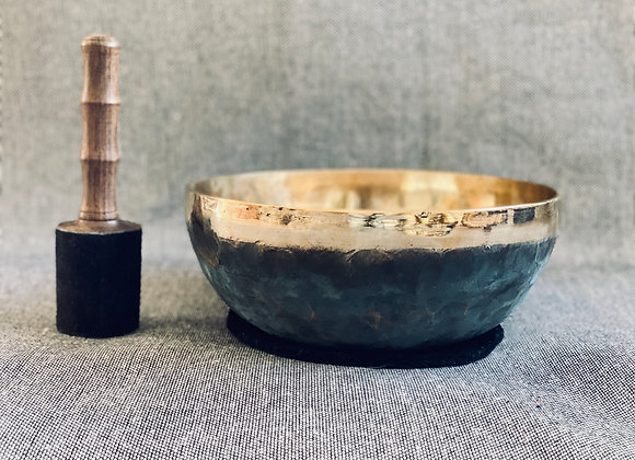 Offre Bol Chantant Tibétain Ishana Black/Gold 27 cm